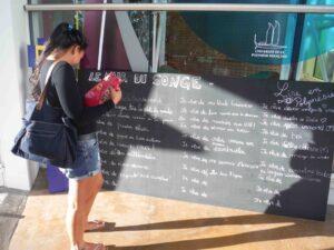 mur du songe UPF