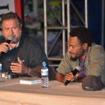 Moetai Brotherson et Paul Tavo