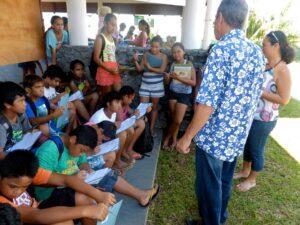 Patrick Chastel à la rencontre des élèves