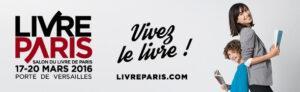 Bienvenu au salon du livre de Paris