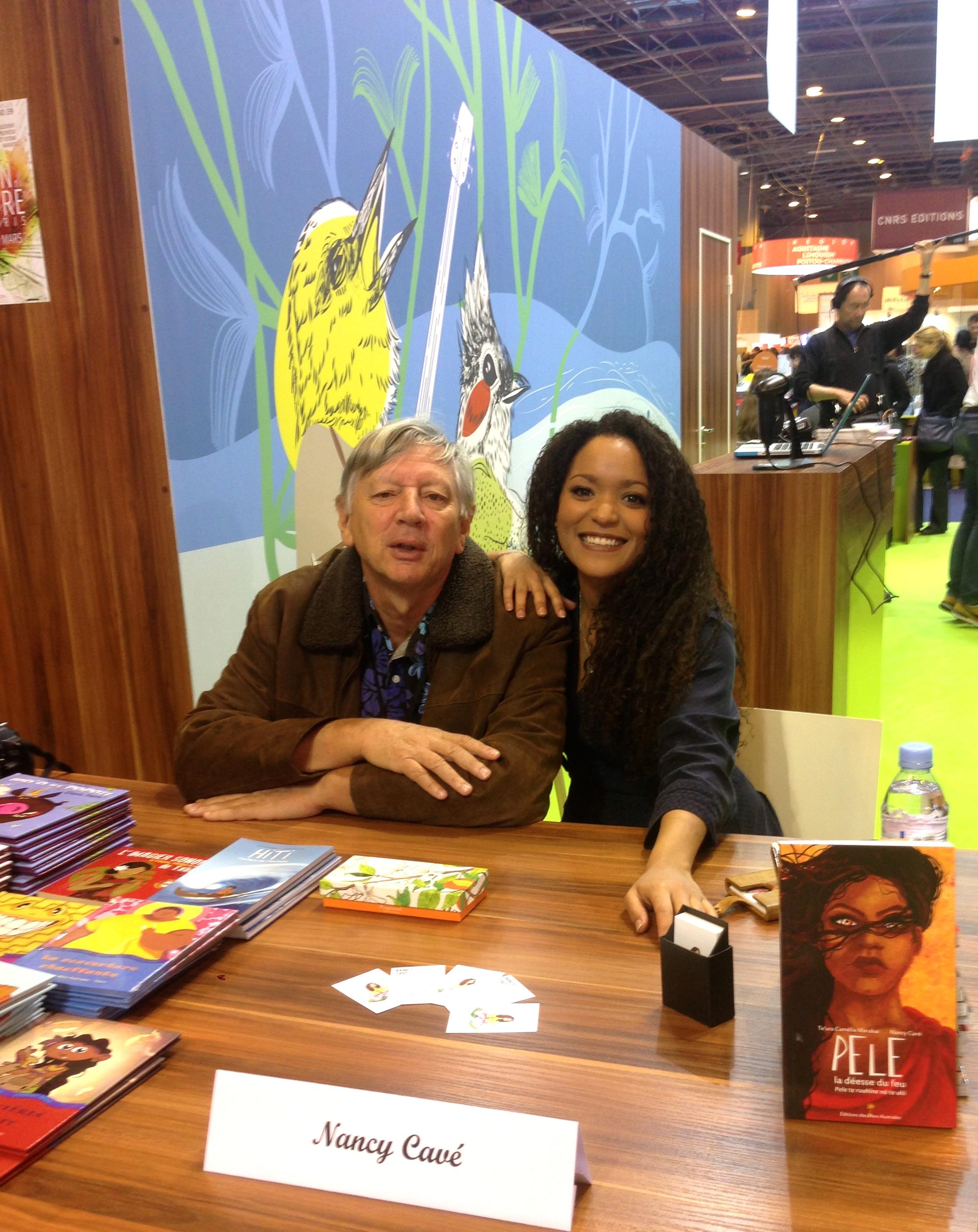 Nancy Cavé, illustratrice et son éditeur - Éditions des Mers Australes