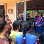 Inauguration du salon du livre de Huahine