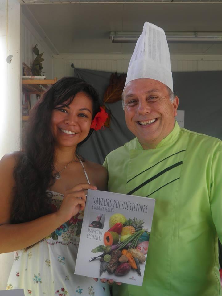 Le Chef Jean-Pierre Desperiers et son dernier ouvrage gourmand, Saveurs à quatre mains !