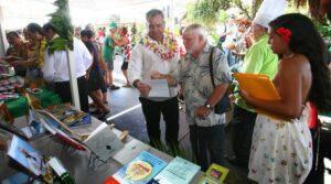 Visite du Ministre Heremoana  Maamaatuaiahutapu